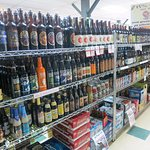 Domestic, Imported and Craft Beers, hundreds to choose from!