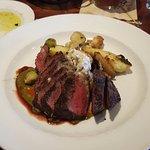 Wood Grilled Flat Iron Steak - Medium