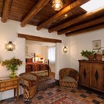 The Nicholas Suite - quintessential Santa Fe style, and a favorite of returning guests.
