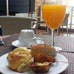 Delightful breakfast