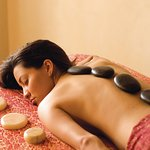 Indulge in a fabulous hot stone massage at our Absolute Nirvana Spa.