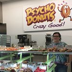 Good service with vast selection of...candy (donuts).