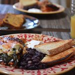 Roasted Poblanos & Quinoa - nutritious and delicious, full of local flavor.