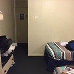 Looking toward door to room
