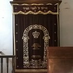 Inside the Ohel Moyshe Synagogue at the Shanghai Refugees Museum