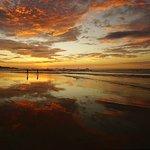 A sunset on Playa Tamarindo