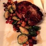 Roasted Pork Chop special