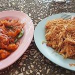 Pineapple Chilli Fish & Bee Hoon