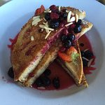 A twist on French toast that was delicious!