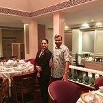 With Restaurant Manager Meenakshi Thakur