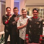 With Nelson, Tirtha and Uddao