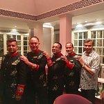 With Debashish, Gopal, Furkhan & Ronny