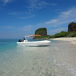 The island was wonderful, clear waters, just what you need to getaway from the city hussle