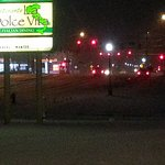 sign for La Dolce Vita Restaurant