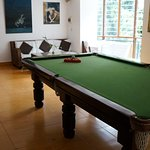 Lounge and Pool Table Roo
