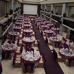 peek to ballroom, famous for weddings!