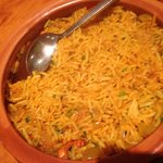 Lamb Biryani the rice well separated
