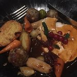 Amazing food at toni & guy Christmas party