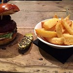 the famous oxtail burger