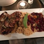 Pork Loins with Red Beans and Rice