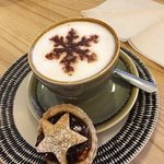Coffee and mince pie time