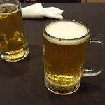 Sapporo draft on tap