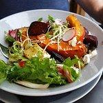 Pumpkin, Beetroot and Feta salad