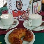 Our coffee break!