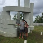In a way to Airport (Curland monument)