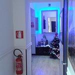 Pasillo de entrada y acceso a las habitaciones