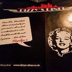 The menu & the Mississipi Mudslide