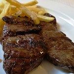 Entrama ternera brasa-Menú diario- restaurant Fonda Barris (Joanetes-Girona)