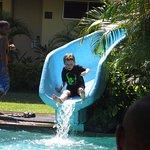 kids loved the slide