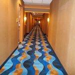 Seven Clans - bright clean hallway