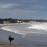 Narragansett Town Beach, across the street.
