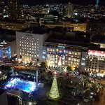 View of Union Square from the dance floor