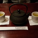 A Nice Hot Pot of Green Tea