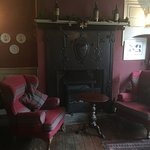 Inside the front door in the wee lounge. wonderful for tea or drinks.
