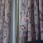 supost to kitchen old curtain and sry closet