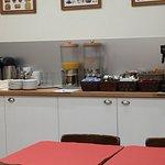 Breakfast area and lowly breakfast