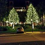 Night shot of the Hotel Colorado