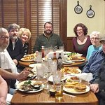 Nine Laurion family members enjoyed a 2016 pre-Thanksgiving supper.