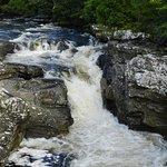 The falls; pretty but small