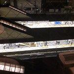 kawasaki Station Below - intresting viewing from a small window!