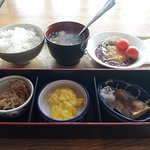 japanese set breakfast if you choose bed and breakfast options