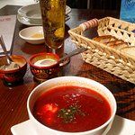 The best Borsch I have ever tasted