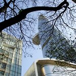 Financial Centre is on the corner and a great landmark