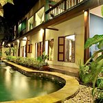 private pool for 3 bedroom private villa in heart of Seminyak