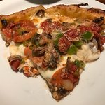 Combination deep dish pizza