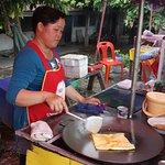 Great street food...three minute walk from the Thavisouk..